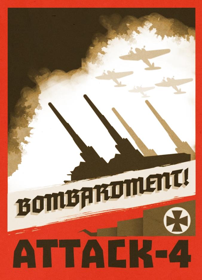 LBH German Bombardment